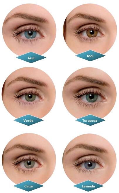 As lentes de contato coloridas de longa duração Magic Top da Optolentes são  gelatinosas de grande naturalidade que mudam a cor dos olhos realçando seu  olhar ... 82e16ce173