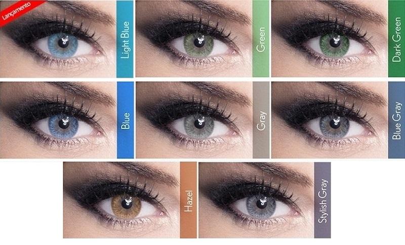 Diferente das tradicionais, as lentes de contato anuais sem grau LUNARE sem  Grau da Bausch+Lomb é produzida com a tecnologia de três camadas internas  de ... 6e6d2f9e9e